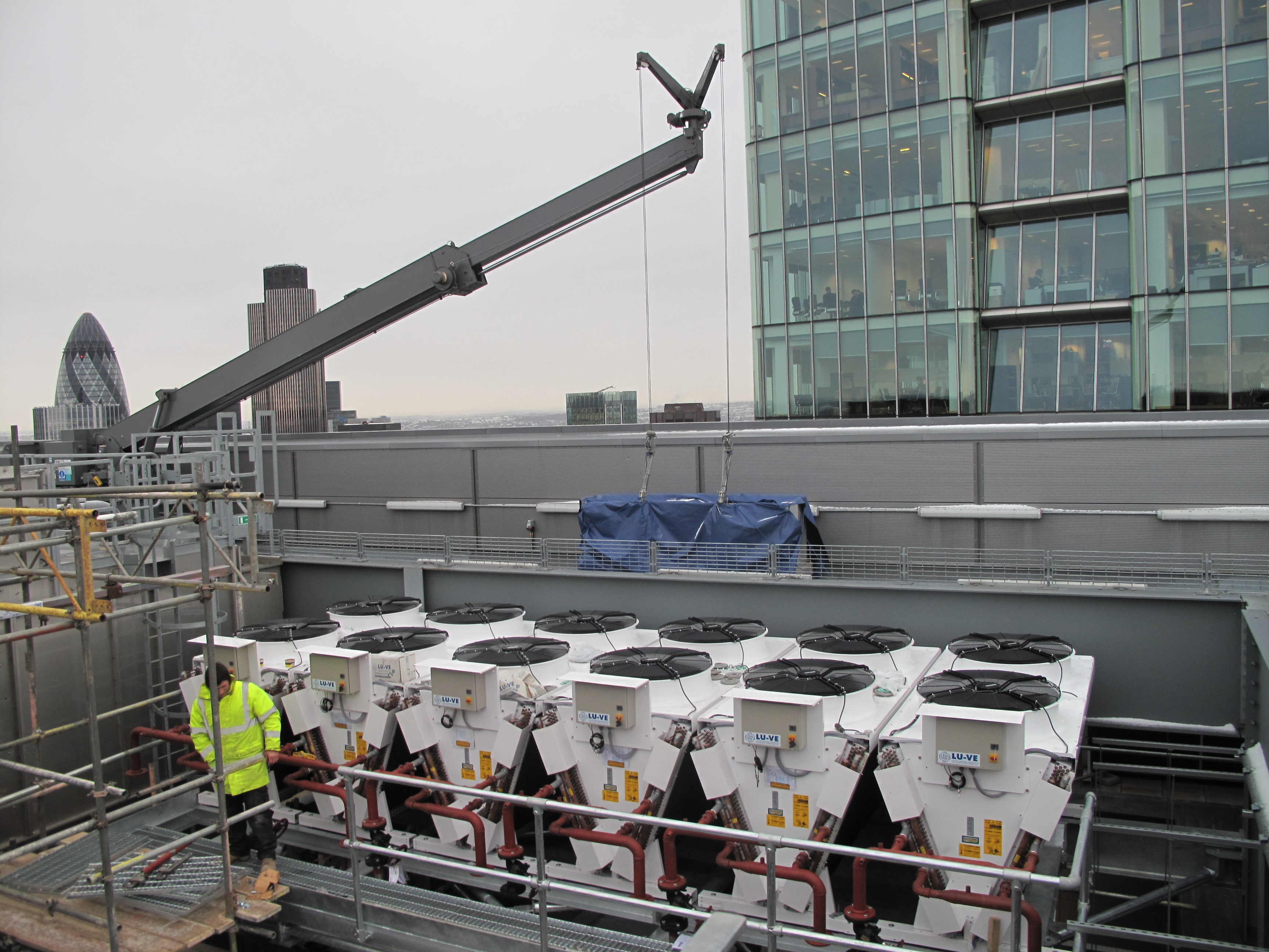 Data Process Centre Installation, City of London,  UK -  