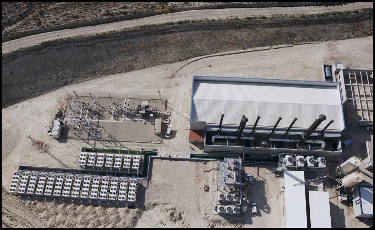 LORCA PLANTA - Spain.Co-generation plant
