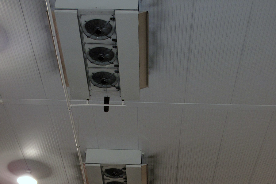 HDI installation. Dual discharge unit coolers. Dublin, Ireland