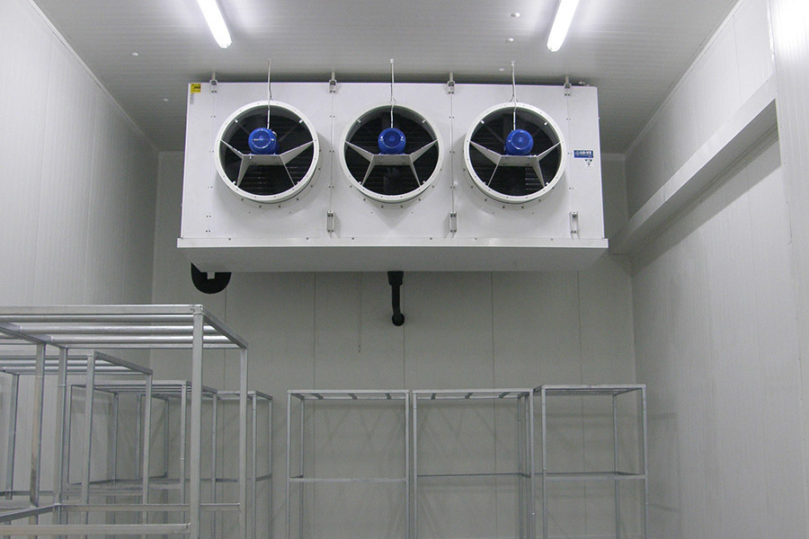 Shock Freezing room - Warsaw, Poland - LS 90 Special industrial unit cooler