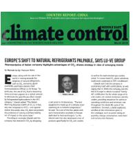 Europe's shift to natural refrigerants palpable, says LU-VE Group