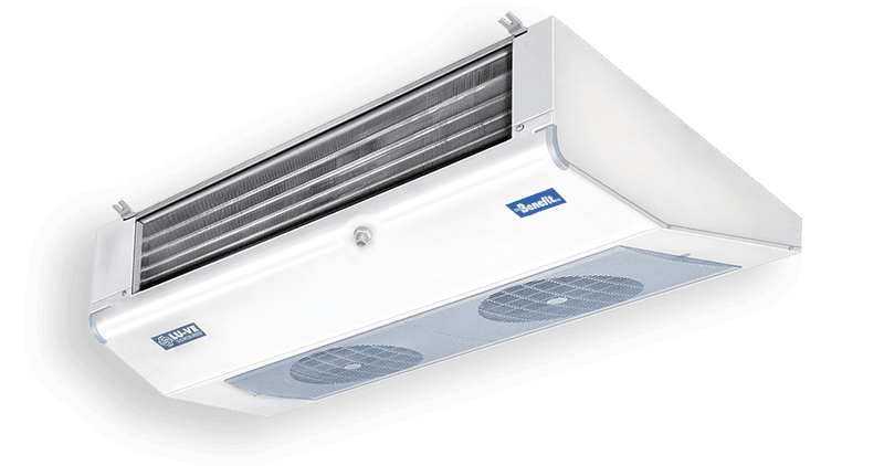 Angled commercial unit coolers for small cold rooms BMA-SMA