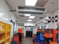 UK catering facility with SHDS coolers - Birmingham